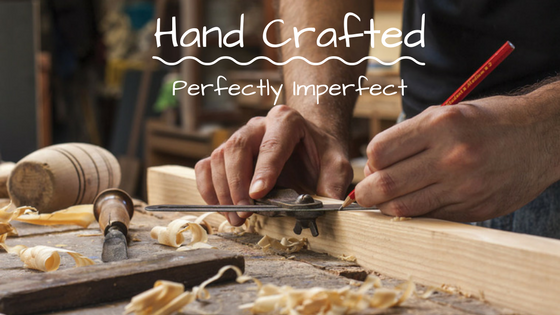 handcrafted perfectly imperfect