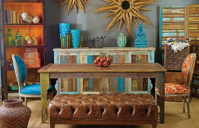 Lovely One Of A Find Rustic Contemporary Furniture Home