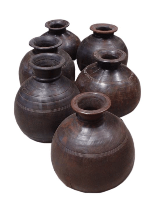 Dovetail Rustic Wood Pot - One of a Find Furniture & Accents - Michigan
