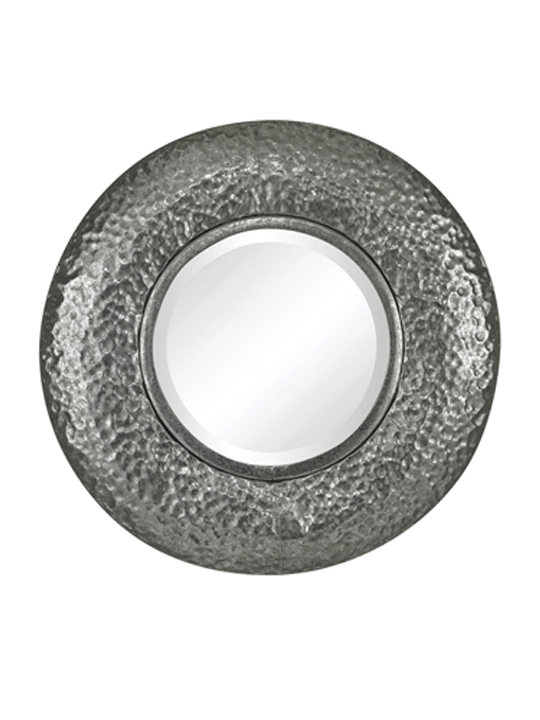 Sterling Hand Hammered Metal Mini Mirror - One of a Find Furniture & Accents - Michigan