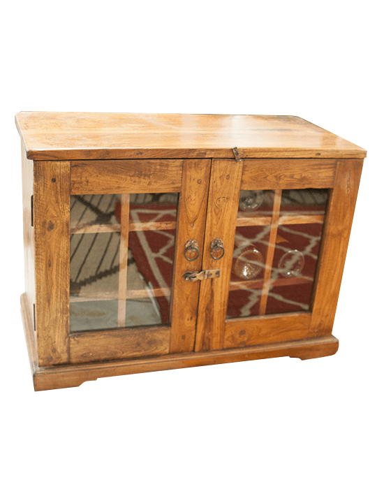 Mango Wine Cabinet - One of a Find Furniture and Accents - Michigan