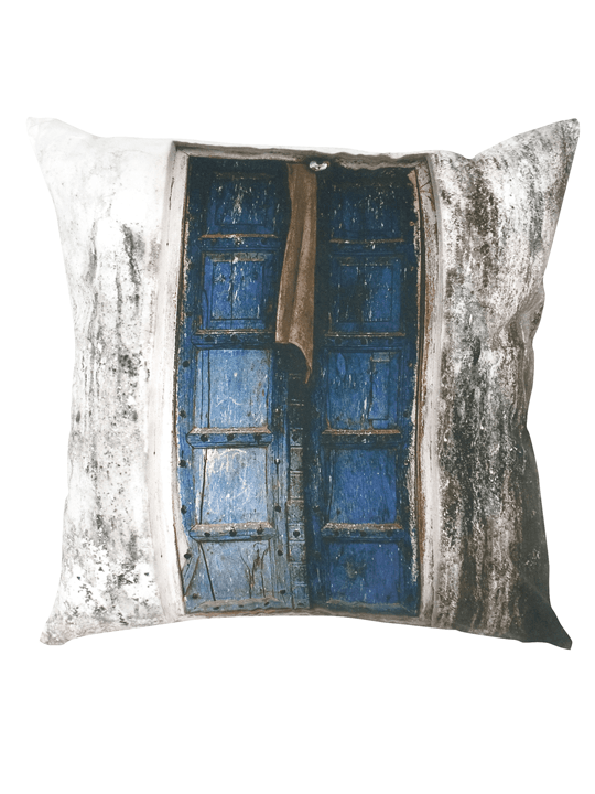 Single Door Print Pillow - One of a Find Furniture and Accents - Michigan