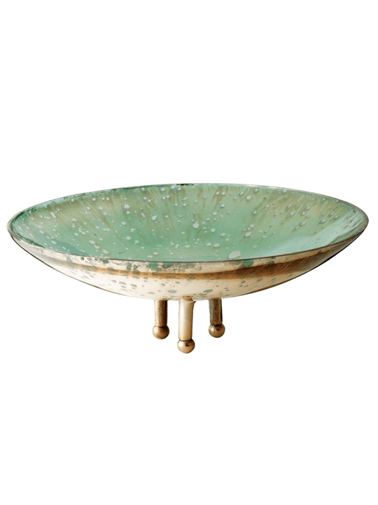 Small Gilded Sea Bowl - One of a Find Furniture and Accents - Michigan