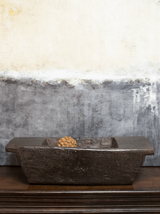 Rustic Wood Trough