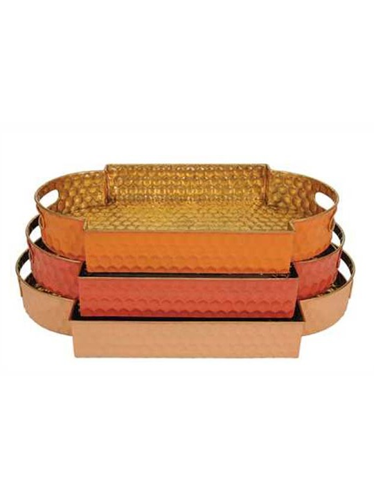 Moroccan Tray Set of 3