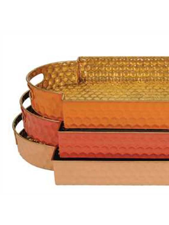 Moroccan Tray Set of 3 Detail