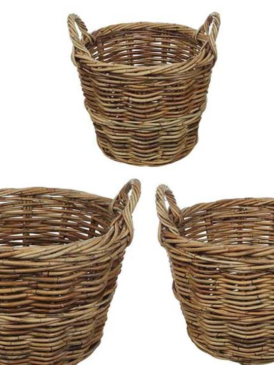 Rattan Basket Detail