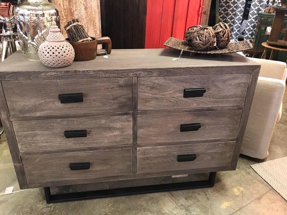 greywash dresser