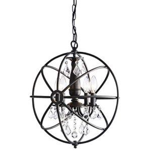 chandelier b&w
